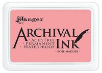 Archival Ink: Rose Madder - mustetyyny