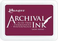 Archival Ink: Light House  - mustetyyny