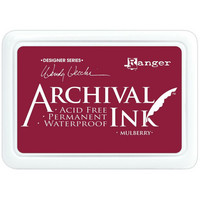 Archival Ink:  Mulberry  - mustetyyny