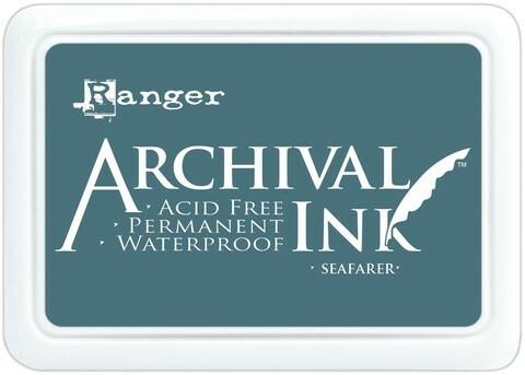 Archival Ink:  Seafarer - mustetyyny