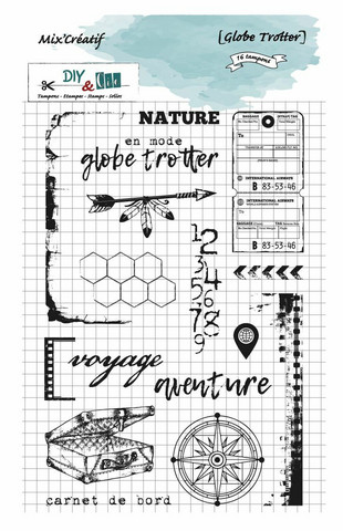 DIY & Cie: Globetrotter  -leimasinsetti