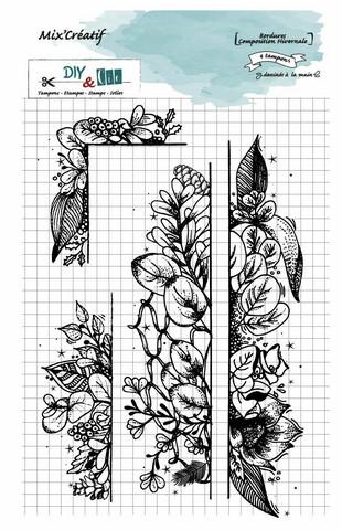 DIY & Cie: Bordures Composition Hivernale  -leimasinsetti