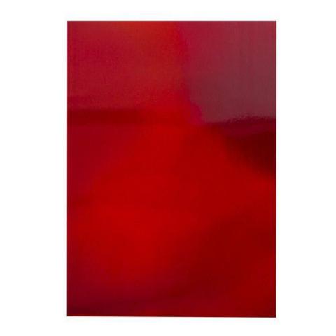 Craft Perfect:  Irridescent Fire Stone Red A4 - peilikartonkipakkaus