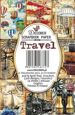 Decorer: Travel - minipaperisetti
