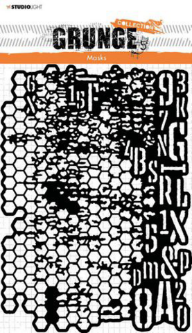Studio Light: Grunge Collection #16 A5 -sabluuna