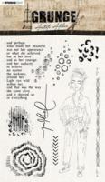Studio Light: Artist's Atelier  #31  Clear Stamps A5 - leimasinsetti