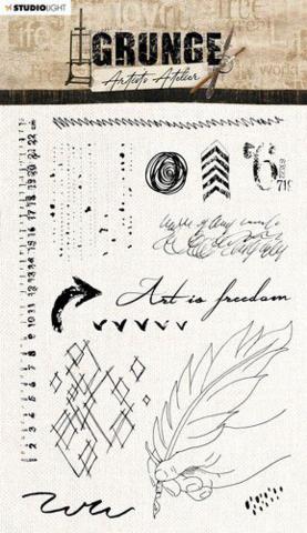 Studio Light: Artist's Atelier  #32  Clear Stamps A5 - leimasinsetti