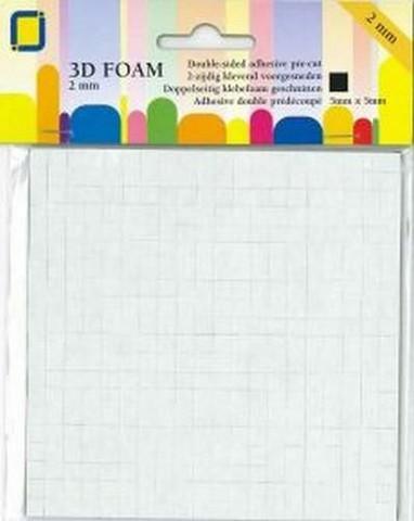 JEJE Product: 3D tarrapalat 2 mm musta
