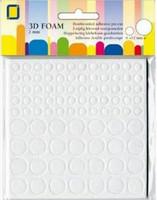 JEJE Product: 3D tarrapalat 2 mm pyöreät