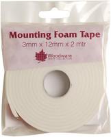 Woodware Mounting Foam Tape 3D kohoteippi 3mm/2m