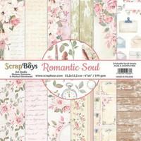Scrapboys: Romantic Soul 6x6 - paperikokoelma