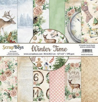 Scrapboys: Winter Time 6x6 - paperikokoelma