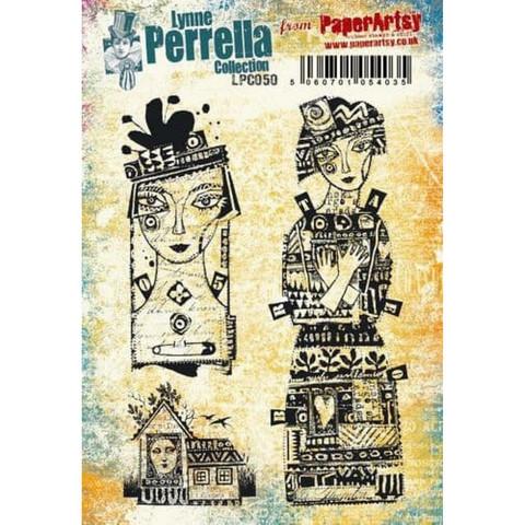 Paperartsy: Lynne Perrella #50 Ezmount A5 - leimasinsetti