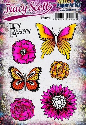 Paperartsy: Tracy Scott #20 Ezmount A5 - leimasinsetti