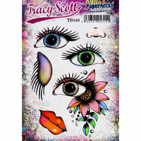 Paperartsy: Tracy Scott #48 Ezmount A5 - leimasinsetti