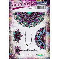 Paperartsy: Tracy Scott #51  Ezmount A5 - leimasinsetti