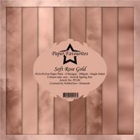 Paper Favourites: Soft Rose Gold 12x12 kokoelma
