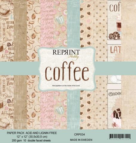 Reprint: Coffee 12x12 kokoelma