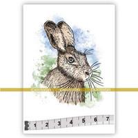 Katzelkraft: Hare (Lievre)  - unmounted leimasin