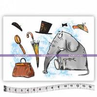 Katzelkraft: Elephant Watson A6 - unmounted leimasinsetti
