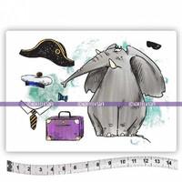 Katzelkraft: Elephant Napoleon A6 - unmounted leimasinsetti