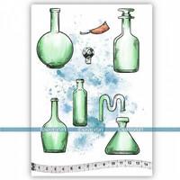 Katzelkraft: Les bouteilles A5 - unmounted leimasinsetti