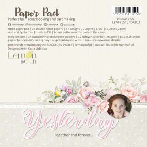 Lemoncraft: Yesterday 2021 12x12 - paperikokoelma