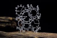 SnipArt:  Background - Openwork Clocks - leikekuvio