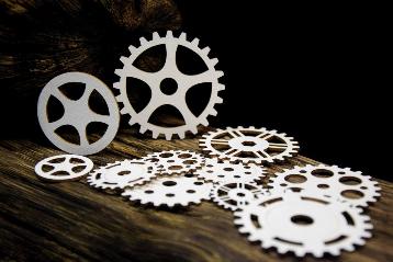 SnipArt: Industrial Factory - Cogs XL  - leikekuviopakkaus