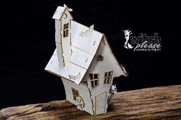 SnipArt: Witch Please - House 3D - leikekuviopakkaus