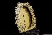 SnipArt: Baroque Frame - Oval 3D HDF