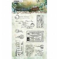 Studio Light Art : Jenine's Mindful - New Awakening #20 Clear Stamps A6  - Games - leimasinsetti