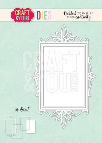Craft & You: Ornament Frame  -stanssi