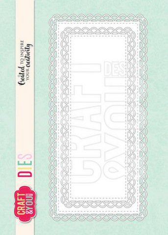 Craft & You: DL openwork frame -stanssisetti