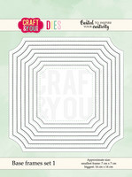 Craft & You: Base Frames Set 1 -stanssisetti