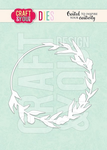 Craft & You: Meadow Wreath -stanssi