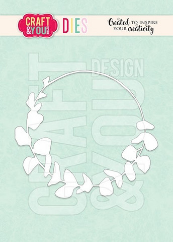 Craft & You: Eucalyptus Wreath  -stanssi