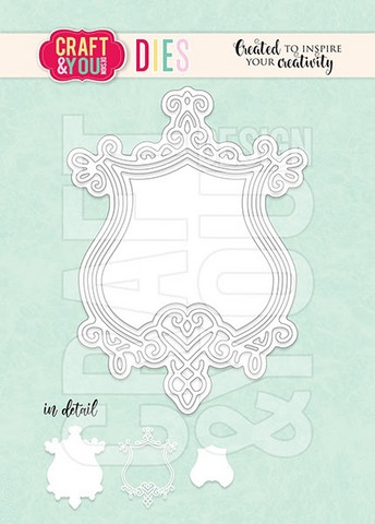 Craft & You: Decorative Frame 2 - stanssisetti