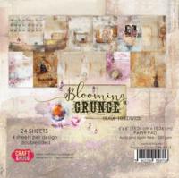 Craft & You Design: Blooming Grunge 6x6 - paperikokoelma