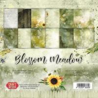 Craft & You Design: Blossom Meadow 6x6 - paperikokoelma