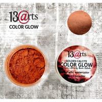 13arts Color Glow Metallic Watercolor: Golden Calcite 10g - jauhevesiväri