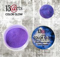 13arts Color Glow Metallic Watercolor: Iolite 10g - jauhevesiväri