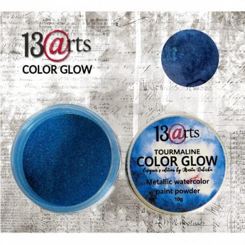 13arts Color Glow Metallic Watercolor: Tourmaline 10g - jauhevesiväri