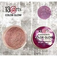 13arts Color Glow Metallic Watercolor: Alexandrite 10g - jauhevesiväri