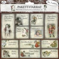 JK Primeco: Pakettitarra Joulu punainen vintage