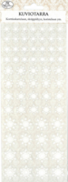 JK Primeco: Glitter lumihiutale - tarrapakkaus
