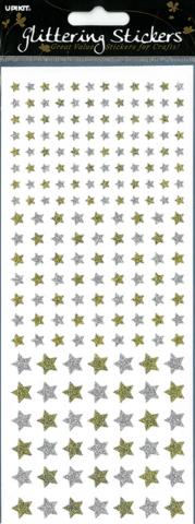 Upikit:  Glitter tähdet