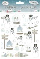 JK Primeco: Lumiukko sininen - tarrapakkaus