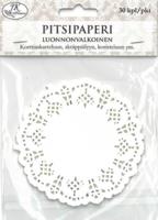 JK Primeco: Kakkupaperi luonnonvalkoinen 9 cm
