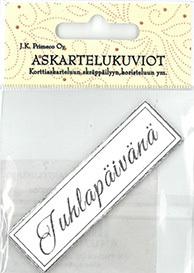 JK Primeco: Juhlapäivänä hopea  - leikekuviopakkaus